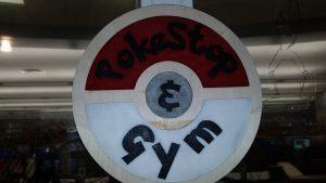 laser cut pokemon go sign