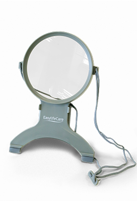 Neck Magnifier With LED Light
