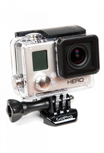 Go Pro Mounted Video Camera