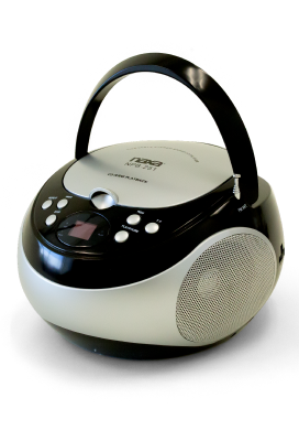 CD Player With AM/FM Stereo Radio
