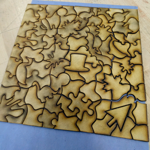 laser cutter puzzle