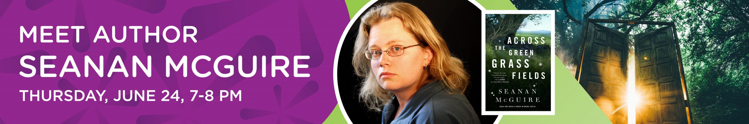 Meet Author Seanan McGuire Thursday, June 24, 7–8 pm
