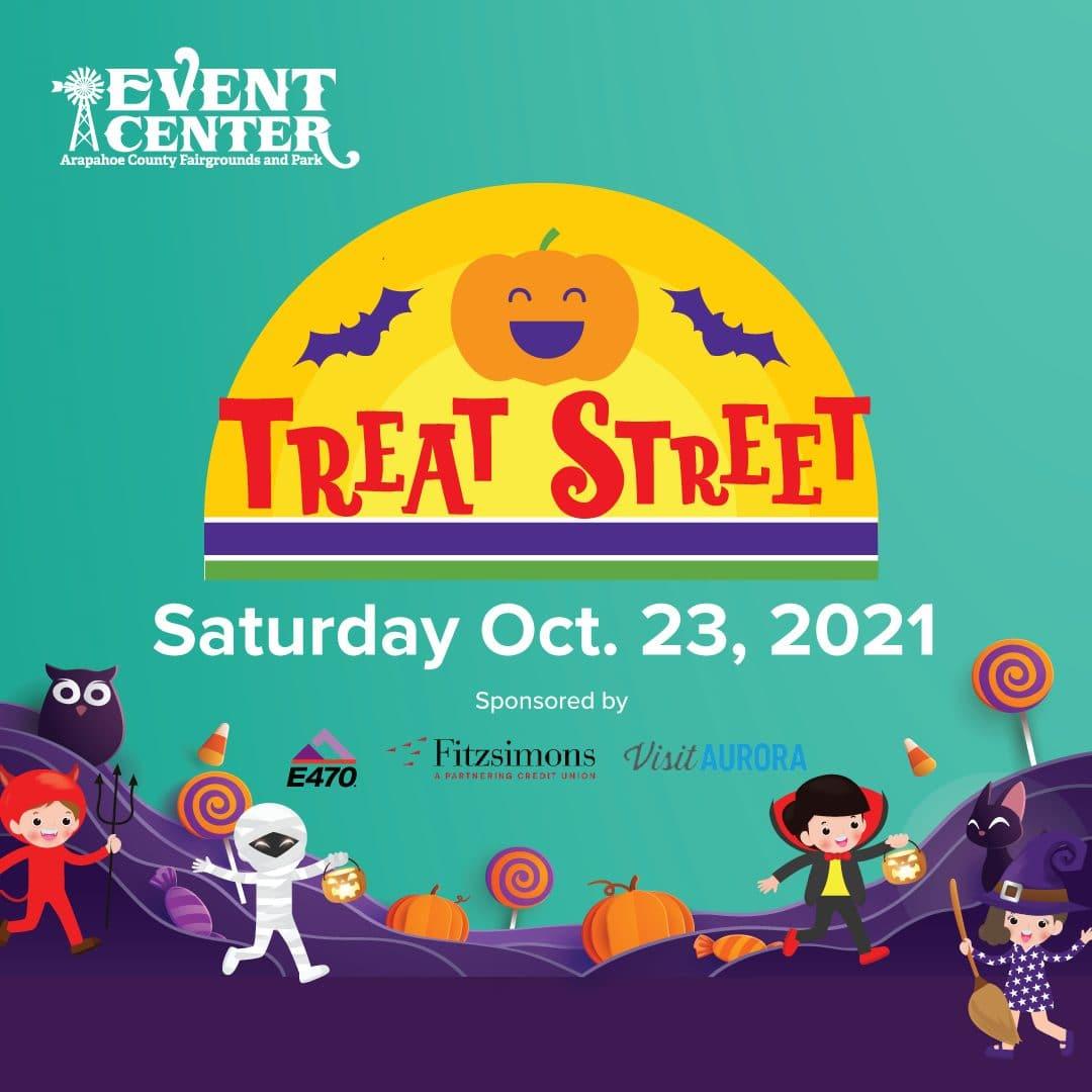 Treat Street at the Arapahoe County Fairgrounds and Park, Saturday Oct. 23, 2021. www.arapahoecountyfair.com/treatstreet